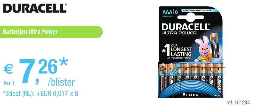 DURACELL ULTRA POWER AAA BLS8