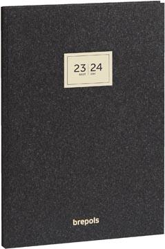 Brepols schoolagenda Weekly Notes Essenz, antraciet, 2021-2022