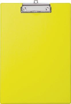 Maul klemplaat, uit PP, voor ft A4, geel
