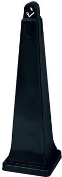 Rubbermaid peukenzuil Groundskeeper, ft 31 x 31 x 100 cm, gegalvaniseerd staal