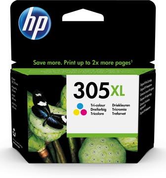 HP inktcartridge 305XL, 200 pagina's, OEM 3YM63AE, 3 kleuren