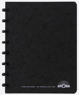 Atoma meetingbook, ft A5, zwart, geruit 5mm