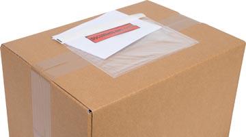 Cleverpack documenthouder Documents Enclosed, ft 175 x 115 mm, pak van 100 stuks