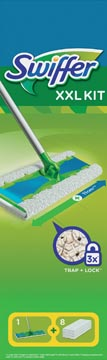 Swiffer vloerwisser XXL Kit, inclusief 8 navullingen
