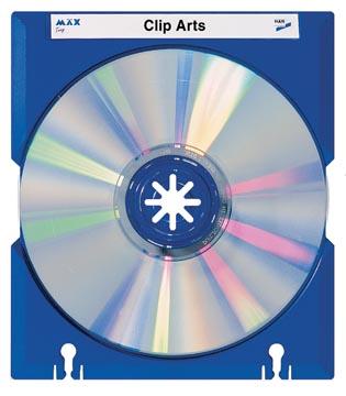 Han Mäx CD/DVD doosje blauw