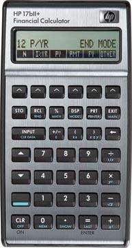 HP financiële rekenmachine 17BII+