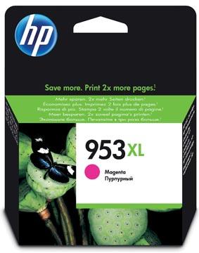 HP inktcartridge 953XL, 1.600 pagina's, OEM F6U17AE, magenta