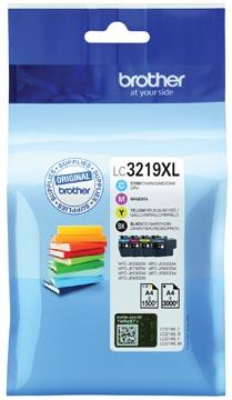 Brother inktcartridge, 1.500 - 3.000 pagina's, OEM LC-3219XLVAL, 4 kleuren