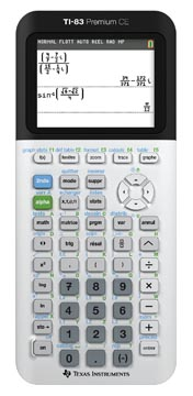 Texas grafische rekenmachine TI-83 premium CE, teacher pack: 10 stuks